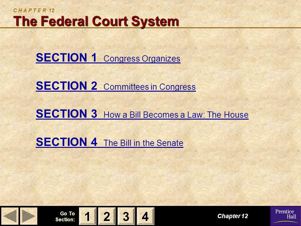 C H A P T E R 12 The Federal Court System