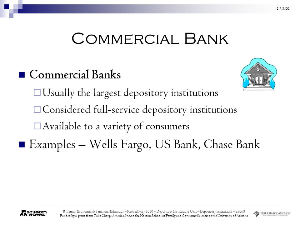 Commercial Bank Commercial Banks