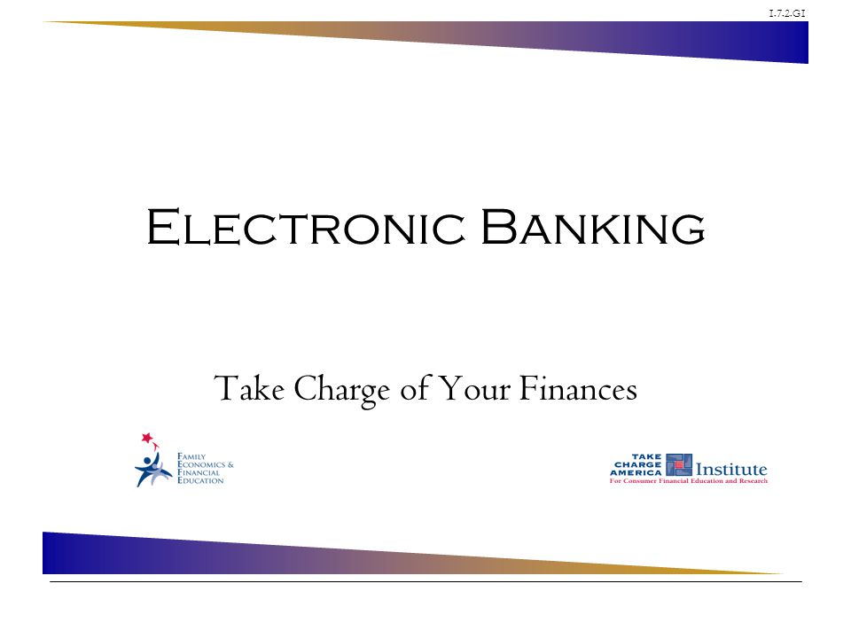 Take Charge of Your Finances