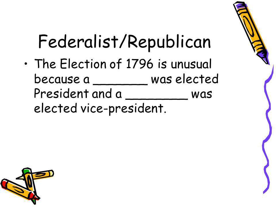Federalist/Republican