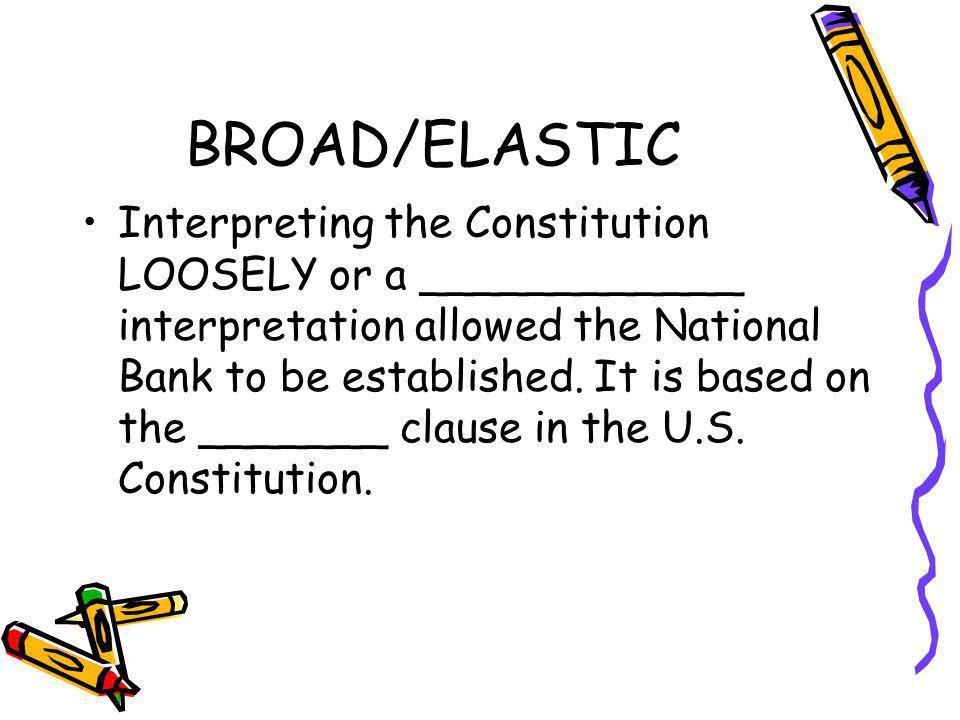 BROAD/ELASTIC