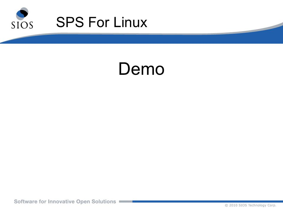 SPS For Linux Demo