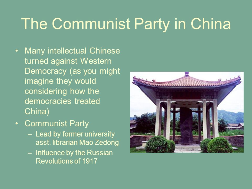 The Communist Party in China