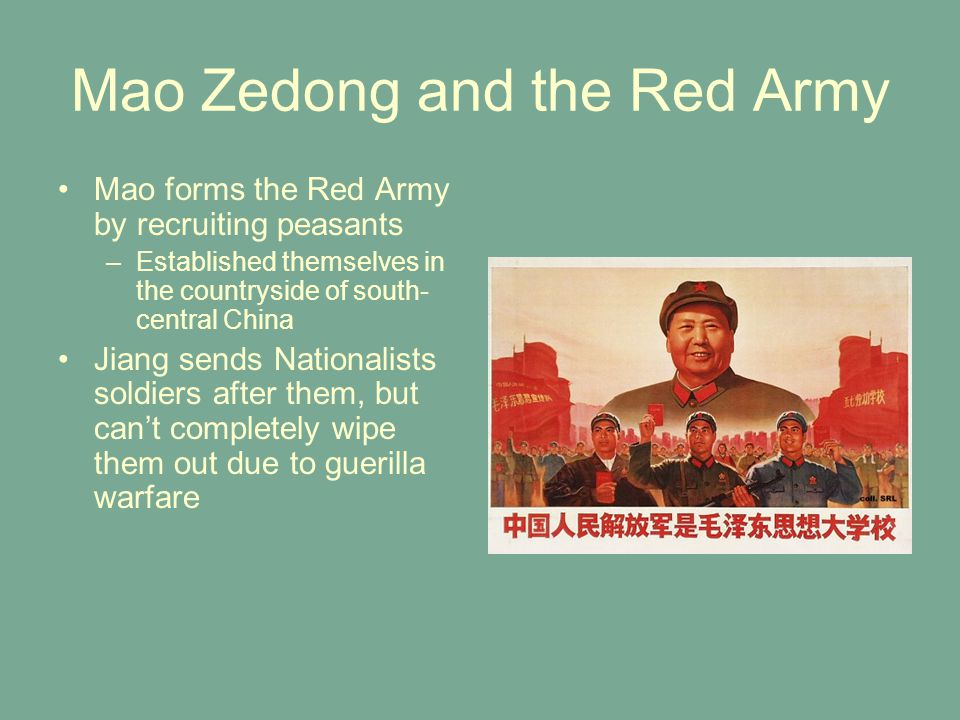 Mao Zedong and the Red Army