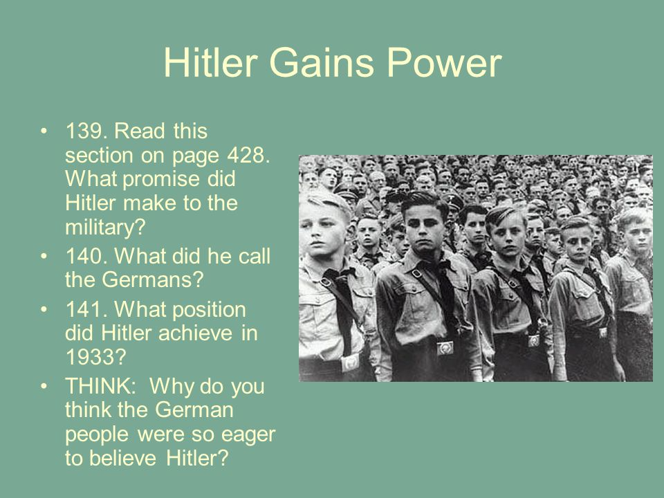 how did hitler manage to achieve How did hitler control germany hitler was a dictator this means that he had complete control over germany and nobody could stop him when hitler was in power, he.