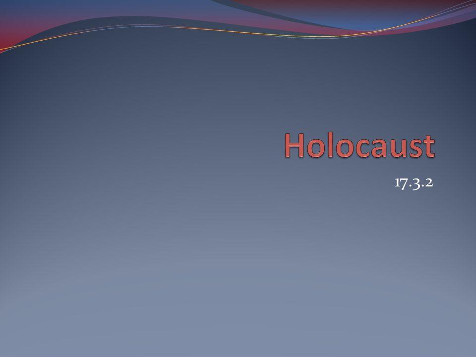 Holocaust 17.3.2