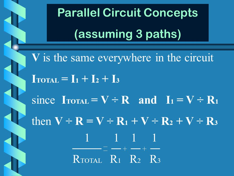 Parallel Circuit Concepts