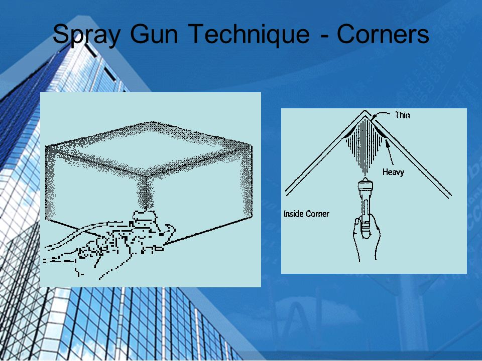 Spray Gun Technique - Corners