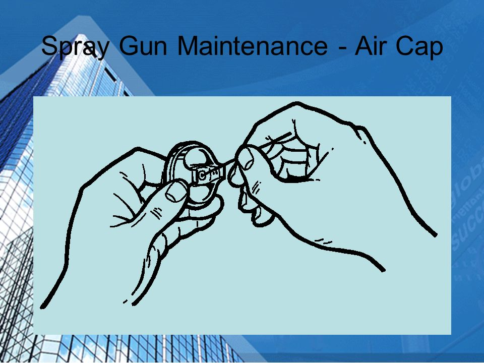 Spray Gun Maintenance - Air Cap