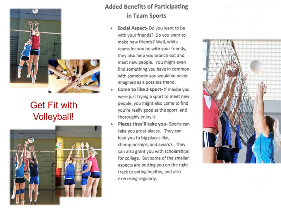 Get Fit with Volleyball!