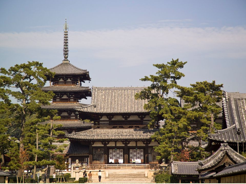 The Horyu-ji complex – Nara, Japan