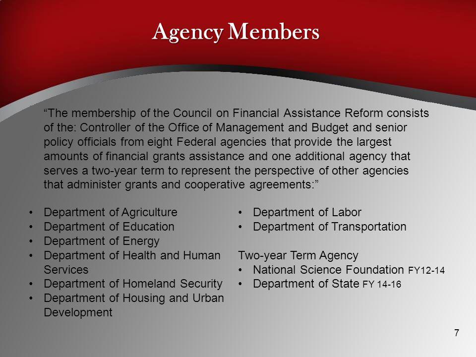 Agency Members