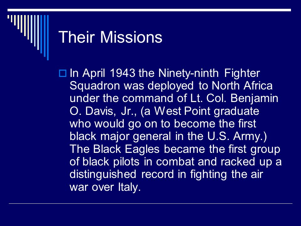Their Missions