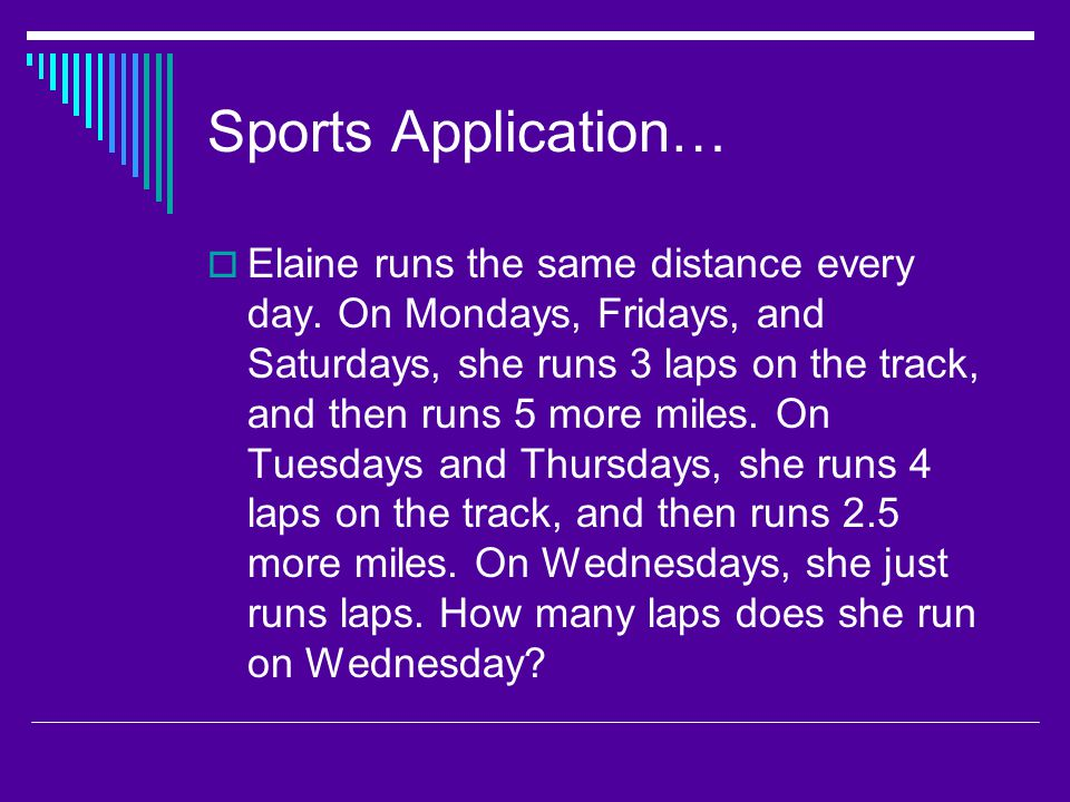 Sports Application…