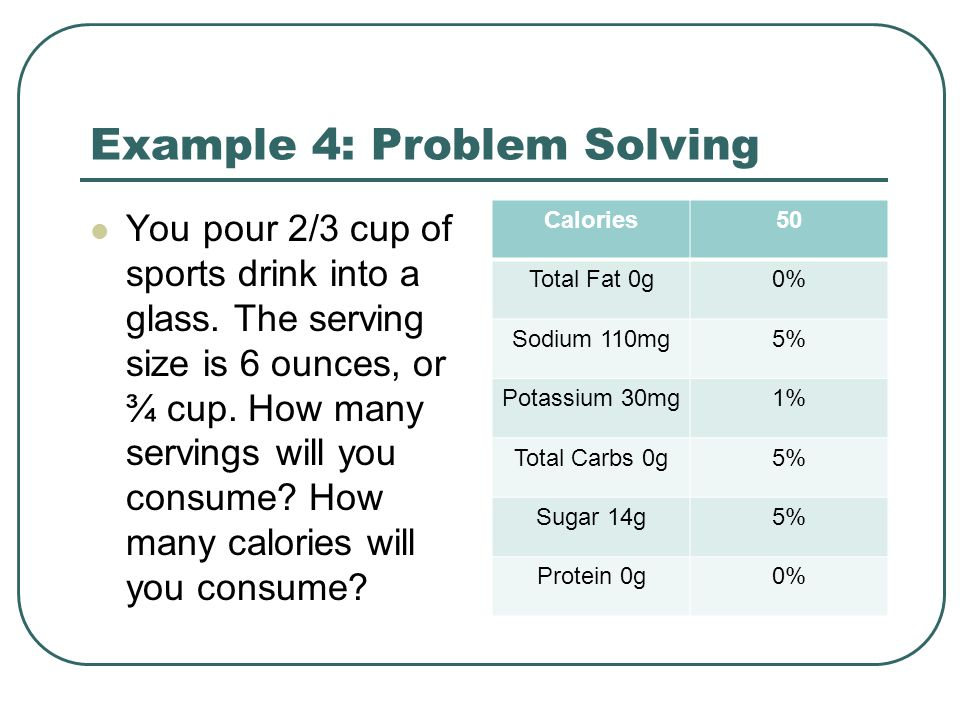 Example 4: Problem Solving