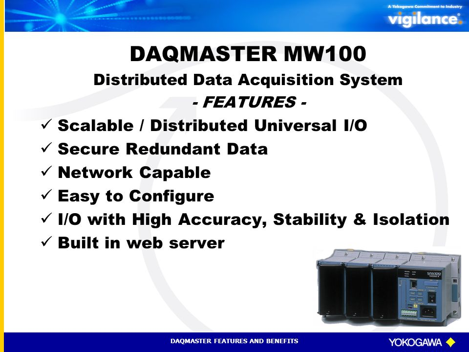 Distributed Data Acquisition System