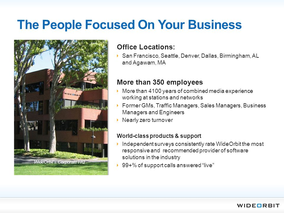 The People Focused On Your Business