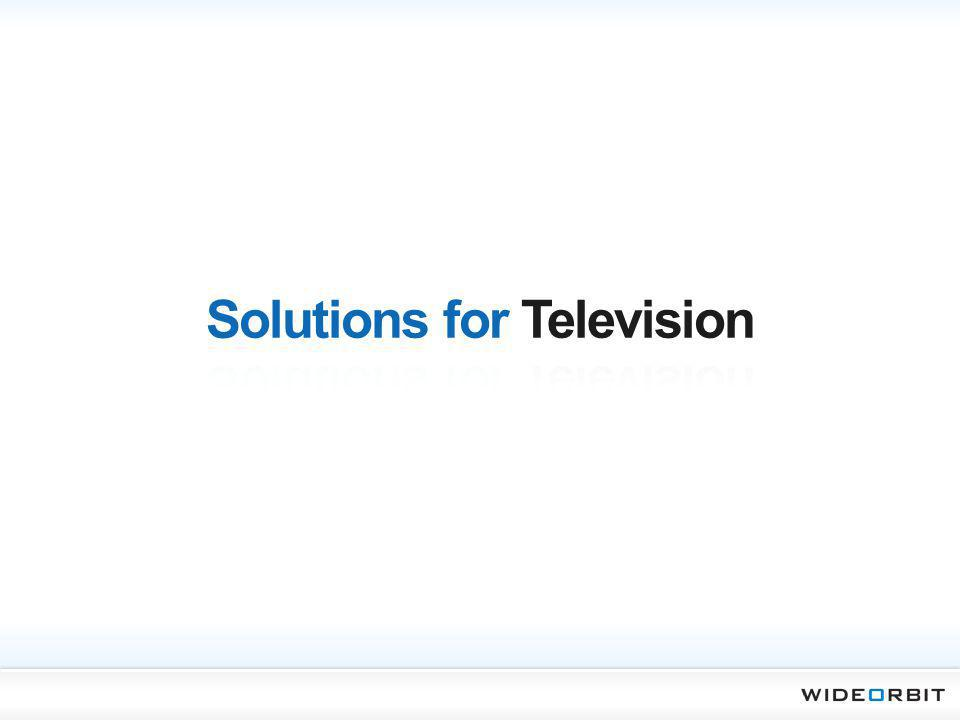 Solutions for Television