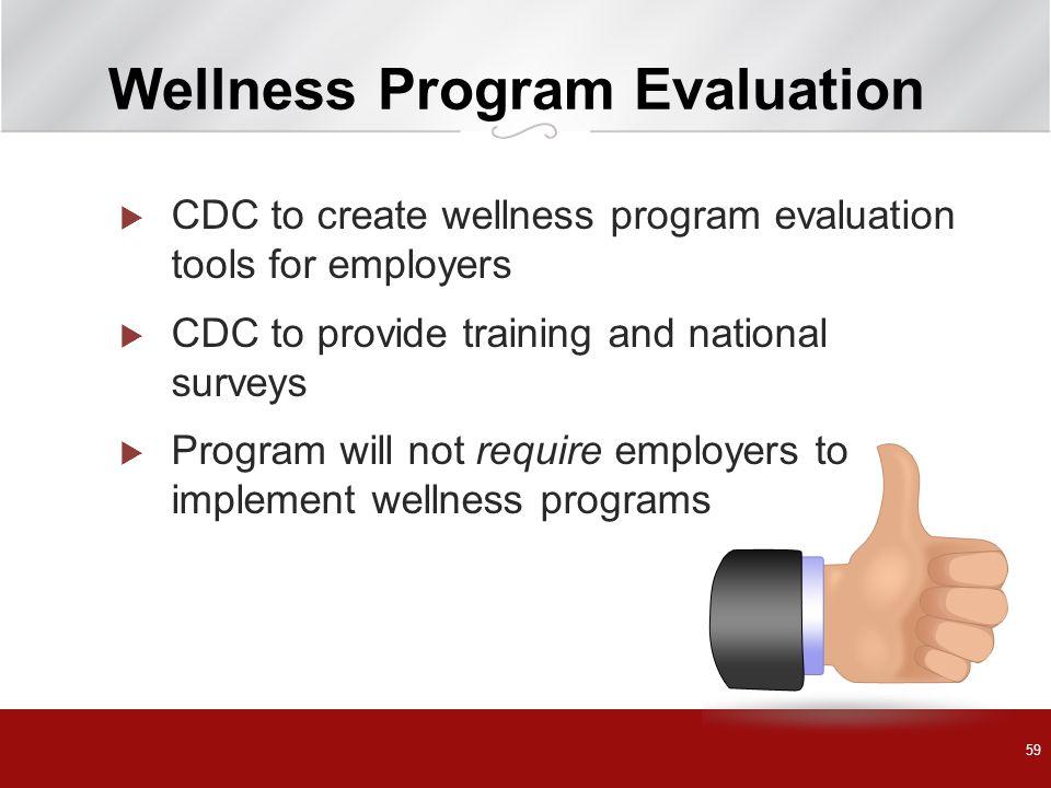 Wellness Program Evaluation