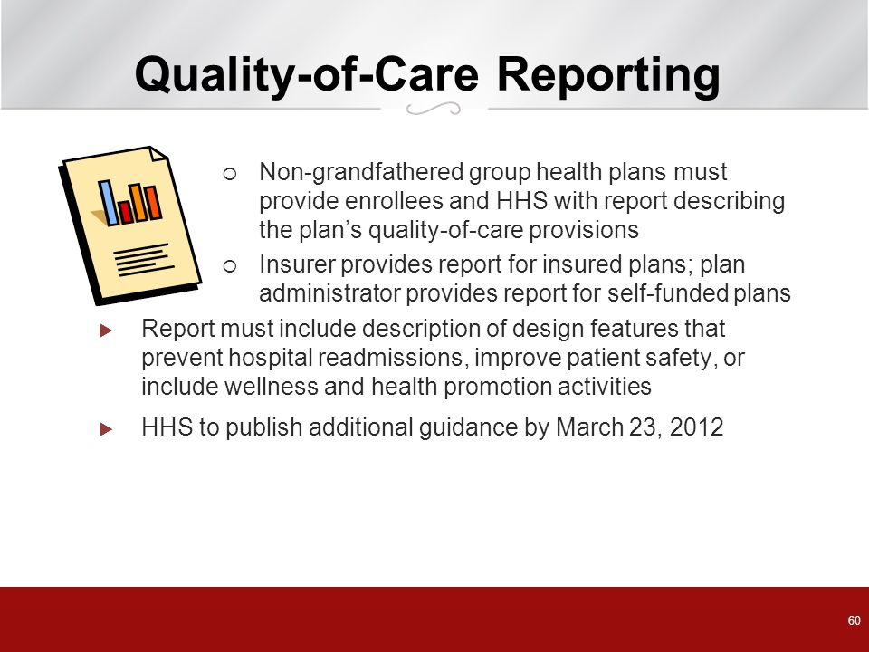 Quality-of-Care Reporting