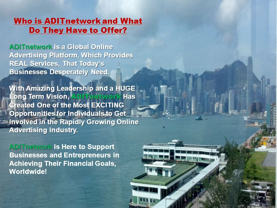 Who is ADITnetwork and What Do They Have to Offer