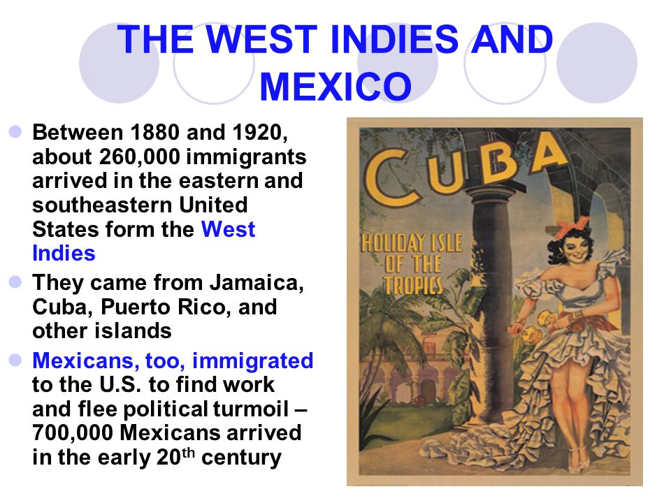 THE WEST INDIES AND MEXICO