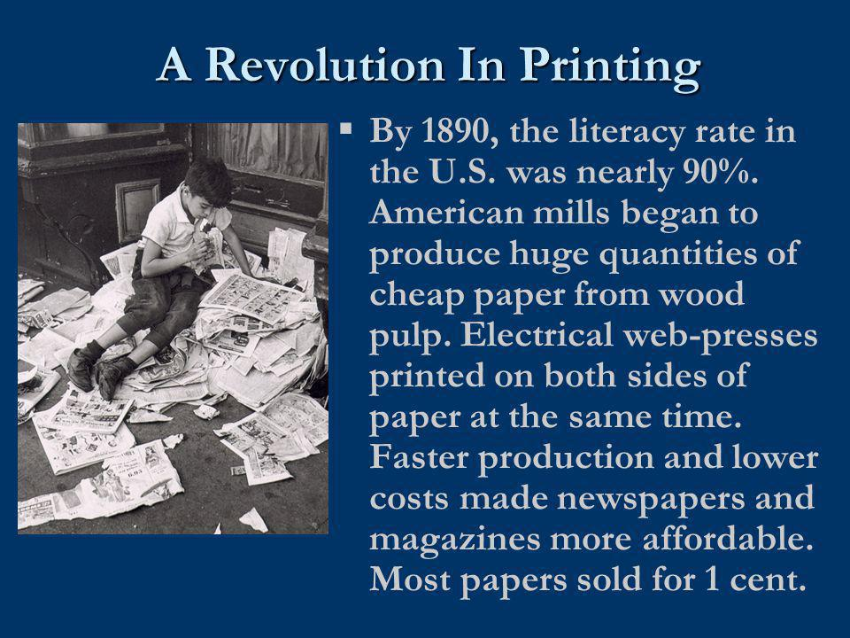 A Revolution In Printing
