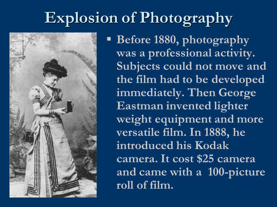 Explosion of Photography