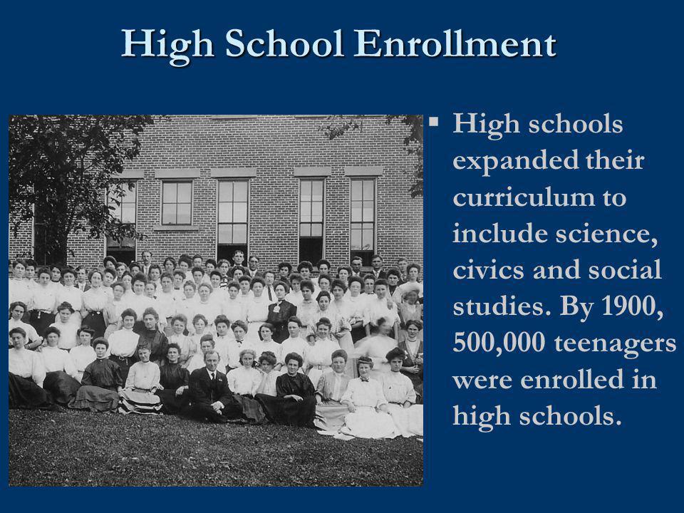High School Enrollment