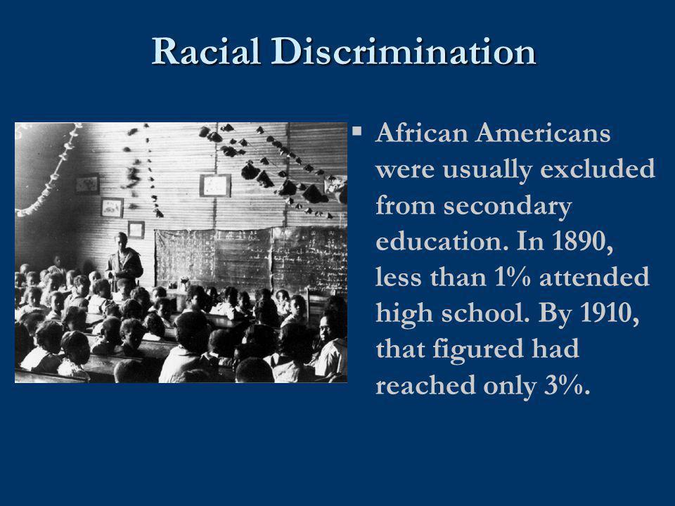 Racial Discrimination