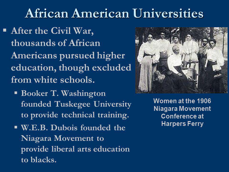 African American Universities