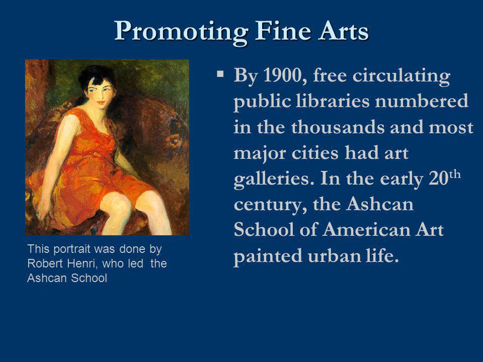 Promoting Fine Arts