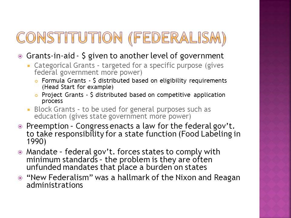 Constitution (Federalism)