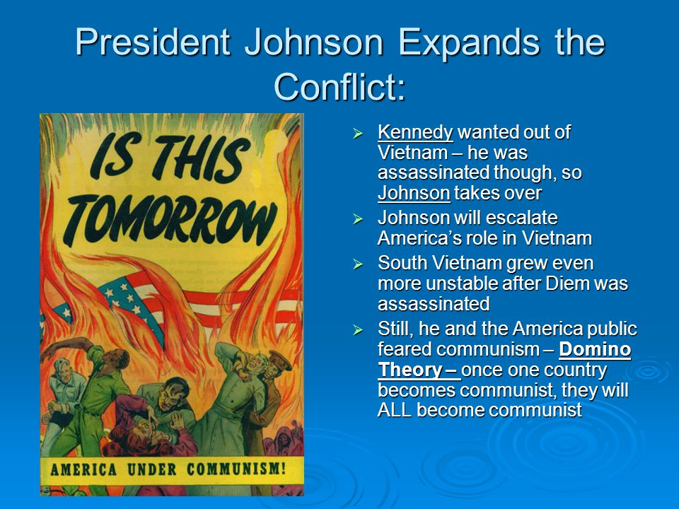 President Johnson Expands the Conflict: