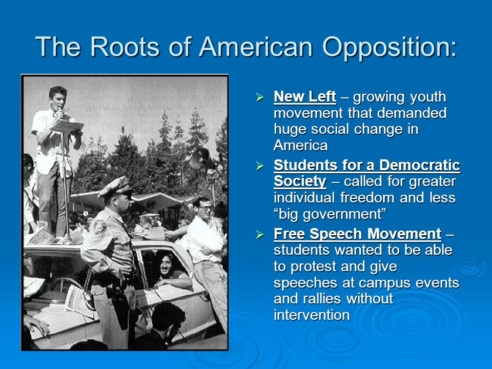 The Roots of American Opposition: