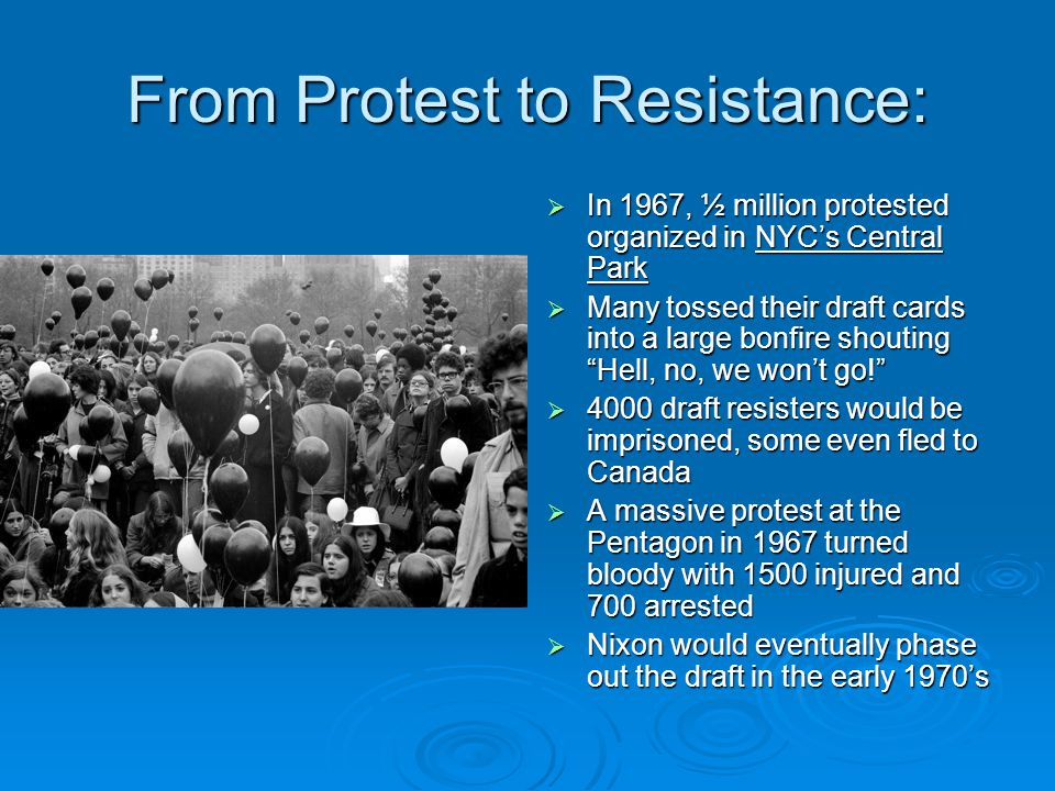 From Protest to Resistance: