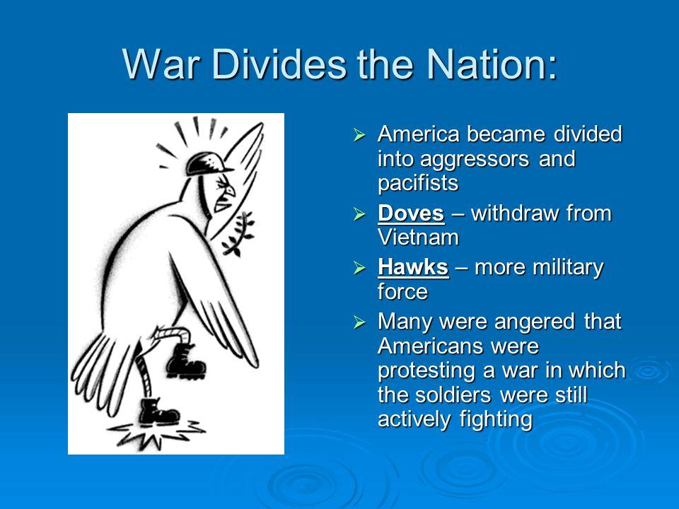 War Divides the Nation: