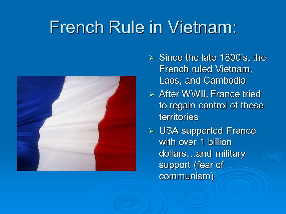 French Rule in Vietnam: