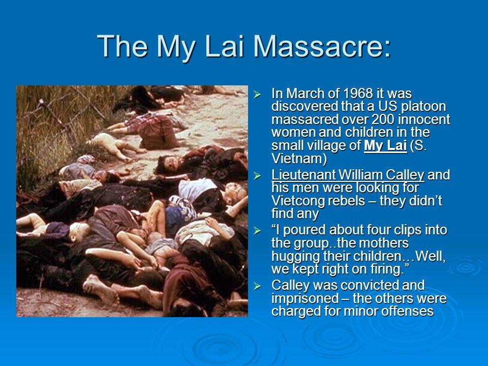 The My Lai Massacre: