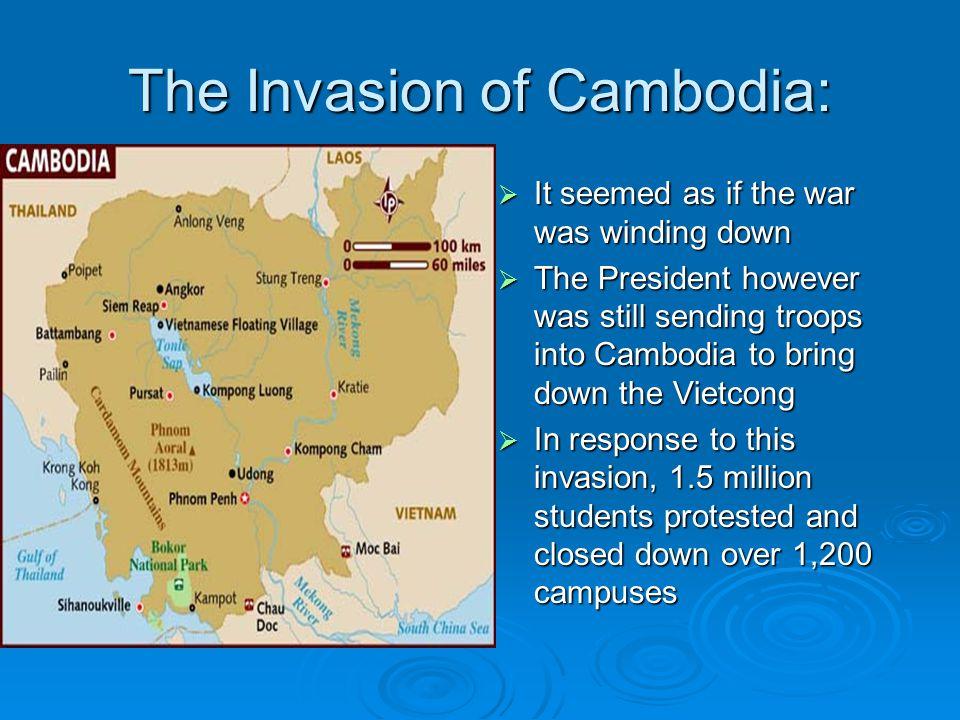 The Invasion of Cambodia: