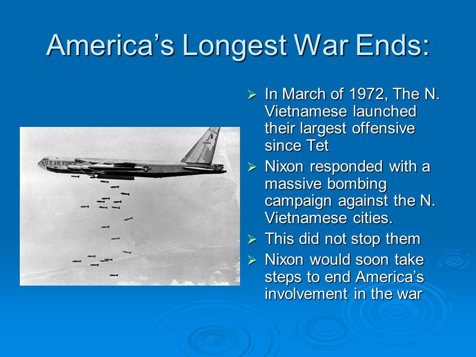 America's Longest War Ends: