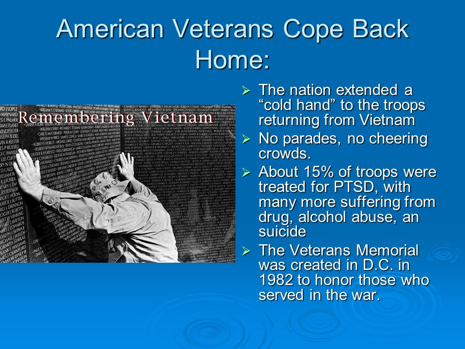 American Veterans Cope Back Home: