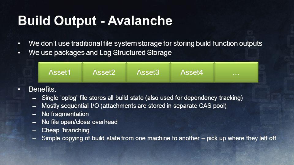 Build Output - Avalanche