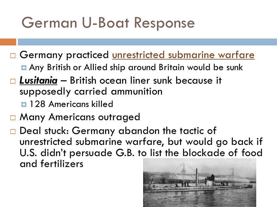 German U-Boat Response