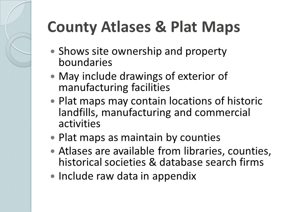 County Atlases & Plat Maps