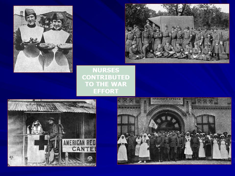 NURSES CONTRIBUTED TO THE WAR EFFORT