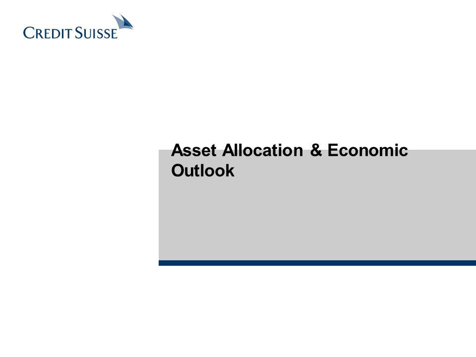 Asset Allocation & Economic Outlook