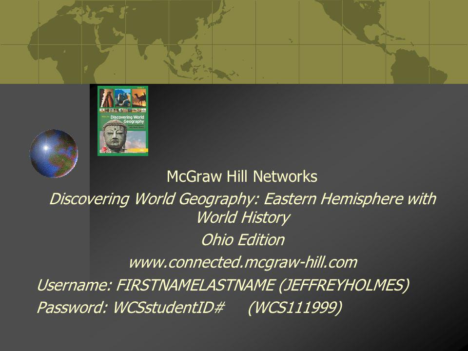 Discovering World Geography: Eastern Hemisphere with World History