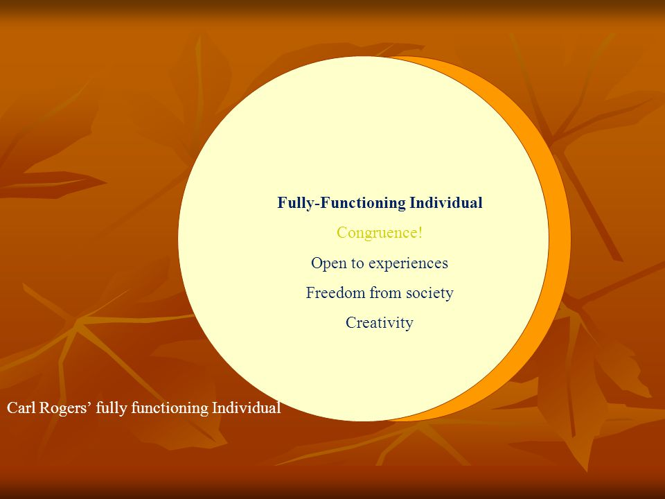 Fully-Functioning Individual
