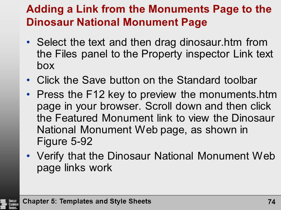 Click the Save button on the Standard toolbar
